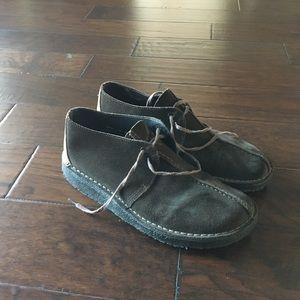 Clark's Desert Trek suede Boots size 11